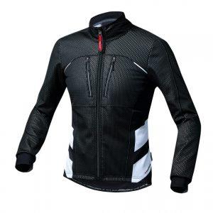 PEARL IZUMI 1500-BL-1 旗艦款0度男性防風保暖長袖公路車衣(黑)