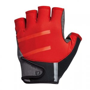 PEARL IZUMI 1720-2 男性頂級型騎行短指手套(紅/黑)