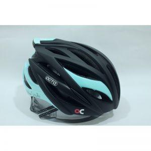 OCTO HC19 平價款自行車專用安全帽(消光黑/藍)