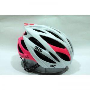 OCTO HC19 平價款自行車專用安全帽(亮光白粉)