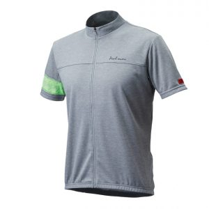 PEARL IZUMI 337-B-2 FREEASY 男性都會休閒款短袖車衣(淺灰/綠)