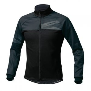 PEARL IZUMI 3500-BL-1 5度冬季男性保暖防風長袖公路車衣(黑)