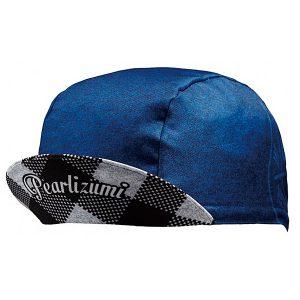 PEARL IZUMI 471-2單車專用吸汗軟小帽(藍格紋)