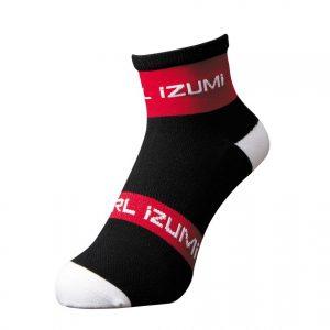 PEARL IZUMI 47-10 競賽型防滑車襪(黑/紅)