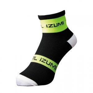 PEARL IZUMI 47-13 競賽型防滑車襪(黑/螢光黃)