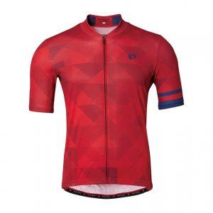 PEARL IZUMI 621-B-45 男性基本合身款短袖車衣(格紋紅)