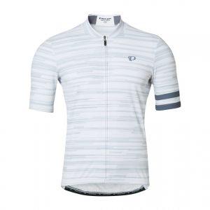 PEARL IZUMI 621-B-46 男性基本合身款短袖車衣(條紋白)