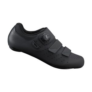 SHIMANO RP4 男性寬楦公路車鞋(公司貨)(深灰)