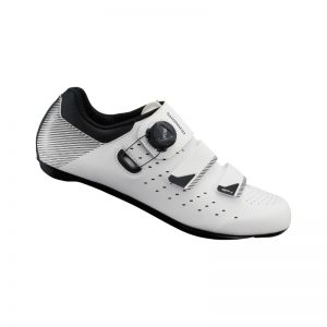 SHIMANO RP4 男性寬楦公路車鞋(公司貨)(白)