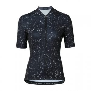 PEARL IZUMI W621-B-21 專業級合身女性短袖車衣(黑/星空)