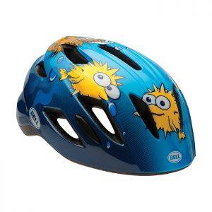 BELL ZIPPER 兒童專用自行車安全帽(藍)BLUE PUFFER