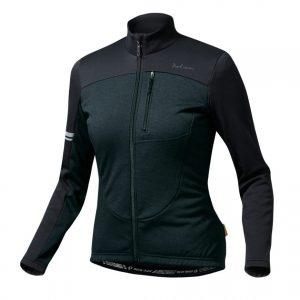 PEARL IZUMI W7112-BL-1 15度冬季女性長袖保暖車衣(黑)