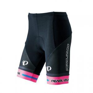 PEARL IZUMI W263-3DNP-13專業級女性短車褲(黑/粉)