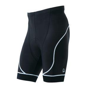 PEARL IZUMI 220-3D-6 男性基本款涼感短車褲(黑/白邊)