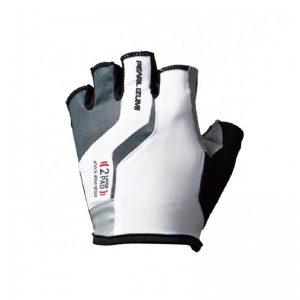 PEARL IZUMI 229-2 男性厚墊短指手套 長距離騎乘(白)