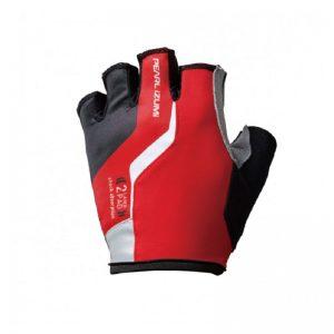PEARL IZUMI 229-3 男性厚墊短指手套 長距離騎乘(紅)