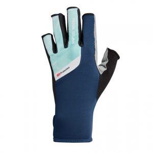 PEARL IZUMI W229-8 女性抗UV厚墊9分指手套(藍/淺藍)