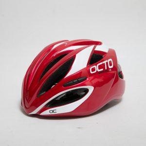 OCTO VADER系列專業級公路車用安全帽(紅白)