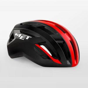 MET VINCI MIPS 自行車安全帽(亮黑紅)