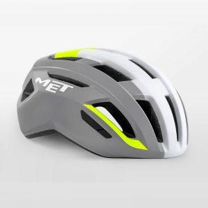 MET VINCI MIPS 自行車安全帽(亮白灰)