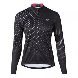 PEARL IZUMI W7455-BL-25 女性15度冬季保暖長袖車衣(黑/白)