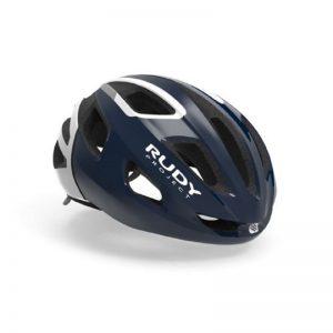 RUDY PROJECT STRYM 輕量化安全帽(亮深藍白)