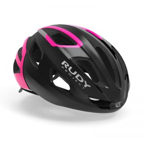 RUDY PROJECT STRYM 輕量化安全帽(亮黑粉)