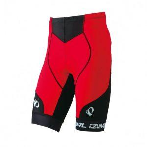 PEARL IZUMI 222-3D-2 基本款男性短車褲(黑/紅)