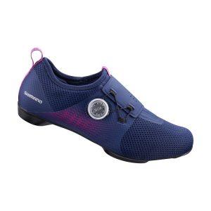 SHIMANO IC5 女性室內飛輪課專用車鞋(登山卡)紫
