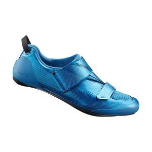 SHIMANO SH-TR901菁英三鐵競賽男性車鞋(藍)