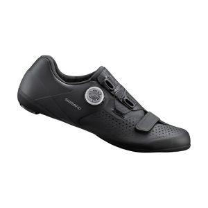 SHIMANO RC5 男性中階公路車鞋(黑色)