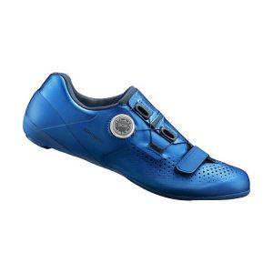 SHIMANO RC5 男性中階公路車鞋(藍色)