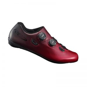 SHIMANO RC701 競賽級碳纖維男性公路車鞋(公司貨寬楦)(紅)