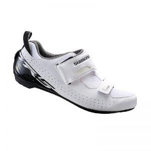 SHIMANO SH-TR5 三鐵競賽入門款男性車鞋(白)