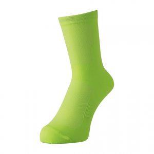 PEARL IZUMI 45-2 吸溼快排自行車專用車襪(螢光黃)