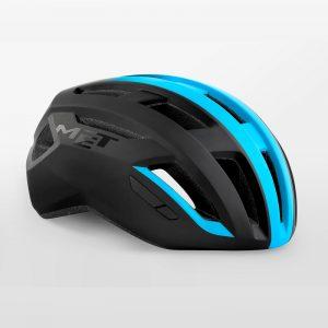 MET VINCI MIPS 自行車安全帽(消光黑藍)