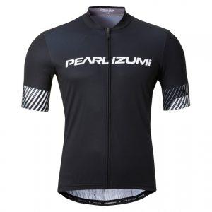 PEARL IZUMI 621-B-47 男性基本款短袖車衣(黑/斜紋白)