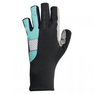 PEARL IZUMI W229-11 女性抗UV厚墊9分指手套(黑/粉綠)