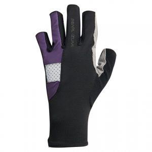 PEARL IZUMI W229-10 女性抗UV厚墊9分指手套(黑/紫)