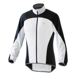 PEARL IZUMI 2300-3 超輕量防潑水風衣(白/黑)