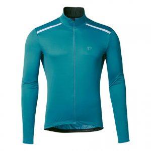 PEARL IZUMI 2300-11 防風透氣風衣外套(藍綠)