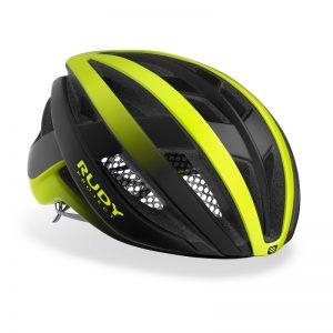 RUDY PROJECT VANGER 2021年專業級輕量化安全帽(消光黑/螢光黃)