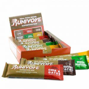RUNIVORE 能量棒(原味耶棗、香橙桔子、抹茶、咖啡可可)