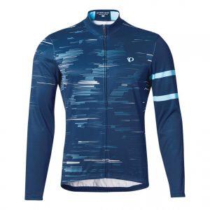 PEARL IZUMI 3455-BL-14 男性冬季15度保暖長袖車衣(藍)