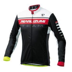 PEARL iZUMi 3455-BL-45 15度男性冬季保暖長袖車衣(黑/紫/白)
