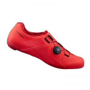 SHIMANO RC3 男性基本款公路車卡鞋(紅)