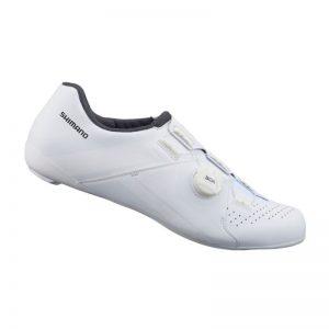 SHIMANO RC3 男性基本款公路車卡鞋(白)