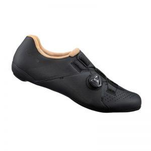 SHIMANO RC3 女性基本款公路車卡鞋(黑)