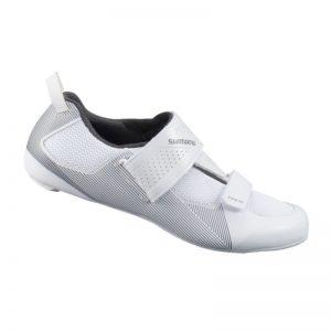 【7號公園自行車】SH-TR501 三鐵競賽入門款男性車鞋(白)