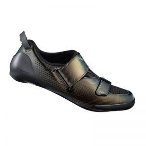 SHIMANO SH-TR901 男性三鐵競賽碳纖維卡鞋(黑)